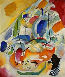 Improvisation 31 (Sea Battle), 1913 by Kandinsky | Painting Reproduction