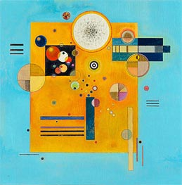Soft Pressure, 1931 by Kandinsky | Painting Reproduction