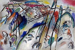 Improvisation 28 (second version), 1912 by Kandinsky | Painting Reproduction