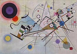 Composition 8, 1923 by Kandinsky | Painting Reproduction