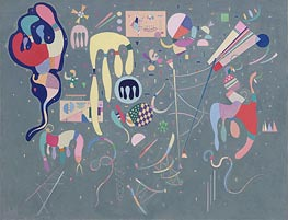Various Actions, 1941 by Kandinsky | Painting Reproduction