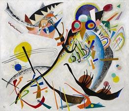 Blue Segment | Kandinsky | Painting Reproduction