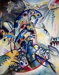 Blue Comb, 1917 von Kandinsky | Gemälde-Reproduktion