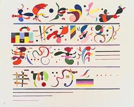 Succession, 1935 von Kandinsky | Gemälde-Reproduktion
