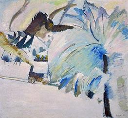 Winter Landscape, 1911 von Kandinsky | Gemälde-Reproduktion