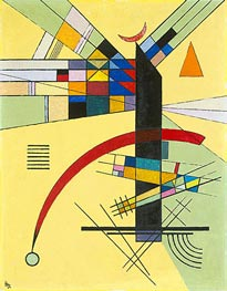 Small Yellow, 1926 von Kandinsky | Gemälde-Reproduktion