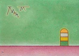 Grünleer, 1930 von Kandinsky | Gemälde-Reproduktion