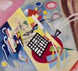 Schwarzer Raster, 1922 von Kandinsky | Gemälde-Reproduktion