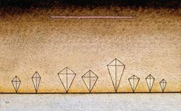 Acht Mal, 1929 von Kandinsky | Gemälde-Reproduktion