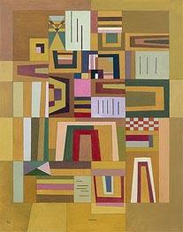 Ausgleichrosa, 1933 von Kandinsky | Gemälde-Reproduktion