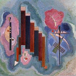 Towards the Bottom, 1929 von Kandinsky | Gemälde-Reproduktion