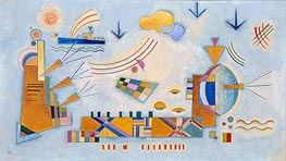 Soft Event, 1928 by Kandinsky | Painting Reproduction