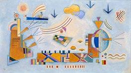 Milder Vorgang, 1928 von Kandinsky | Gemälde-Reproduktion
