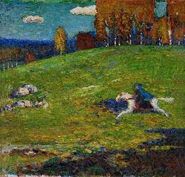 Der Blaue Reiter, 1912 von Kandinsky | Gemälde-Reproduktion