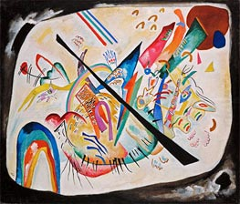 White Oval, 1919 by Kandinsky | Painting Reproduction