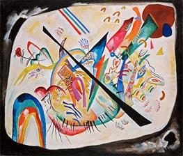 White Oval, 1919 von Kandinsky | Gemälde-Reproduktion