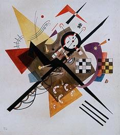 On White II, 1923 von Kandinsky | Gemälde-Reproduktion
