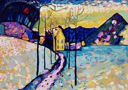 Winter Landscape, 1909 von Kandinsky | Gemälde-Reproduktion
