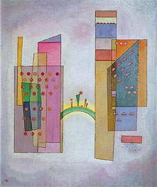 The Bridge, 1931 by Kandinsky | Painting Reproduction