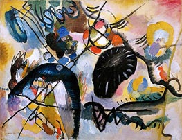 Black Spots, 1912 by Kandinsky | Painting Reproduction