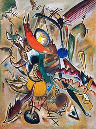Painting with Points, 1919 von Kandinsky | Gemälde-Reproduktion