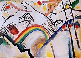 Cossacks, 1910 von Kandinsky | Gemälde-Reproduktion