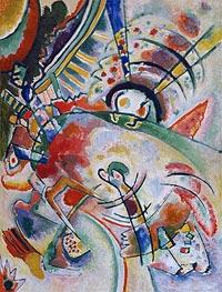 Non-Objective, 1910 von Kandinsky | Gemälde-Reproduktion