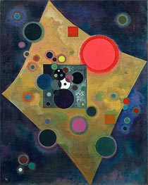 Accent en Rose, 1926 by Kandinsky | Painting Reproduction