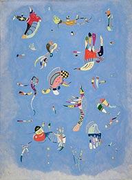 Sky Blue, 1940 by Kandinsky | Painting Reproduction