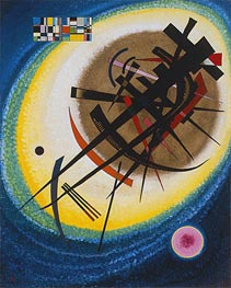 In the Bright Oval, 1925 by Kandinsky | Painting Reproduction