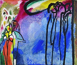 Improvisation 19, 1911 by Kandinsky | Painting Reproduction