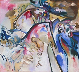 Improvisation 21A, 1911 by Kandinsky | Painting Reproduction