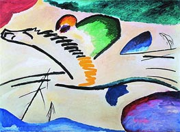 Lyrically, 1911 by Kandinsky | Painting Reproduction