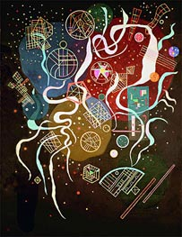 Movement I, 1935 by Kandinsky | Painting Reproduction
