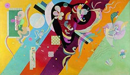 Composition IX, 1936 by Kandinsky | Painting Reproduction