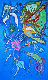 Grouping, 1937 by Kandinsky | Painting Reproduction
