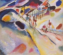 Landschaft, 1913 von Kandinsky | Gemälde-Reproduktion