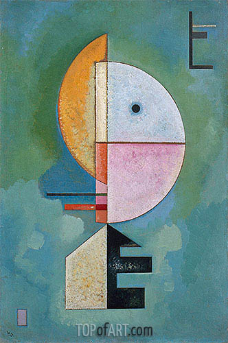 Upward, 1929 | Kandinsky| Painting Reproduction