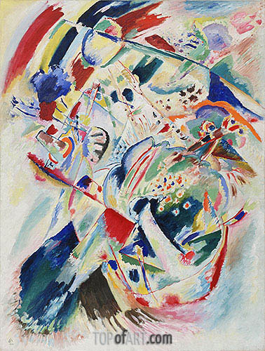 Kandinsky   Panel for Edwin R. Campbell No. 4, 1914