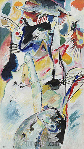 Kandinsky   Panel for Edwin R. Campbell No. 3, 1914