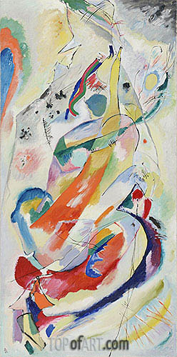 Panel for Edwin R. Campbell No. 1, 1914 | Kandinsky | Painting Reproduction