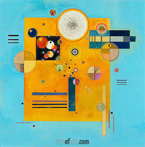 Soft Pressure, 1931 | Kandinsky | Painting Reproduction