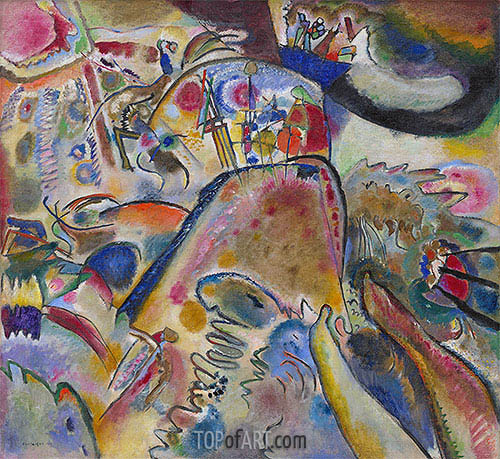 Small Pleasures, 1913 | Kandinsky| Painting Reproduction