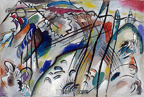 Improvisation 28 (second version), 1912 | Kandinsky | Painting Reproduction