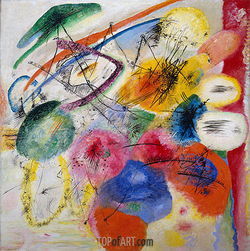 Black Lines, 1913 | Kandinsky| Painting Reproduction