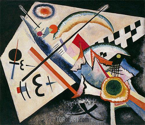 Weisses Kreuz, 1922 | Kandinsky | Gemälde Reproduktion