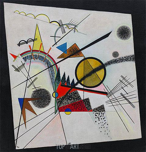 Kandinsky | Im schwarzen Viereck, 1923