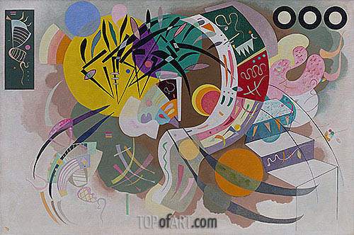 Kandinsky | Dominant Curve, 1936
