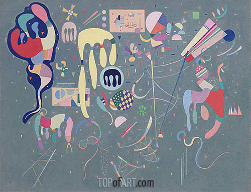 Various Actions, 1941 | Kandinsky | Painting Reproduction