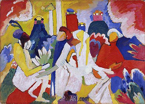 Kandinsky | Oriental, 1909